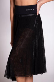 Sylvia P - Studio to Street Skirt - Child/Adult - Black *