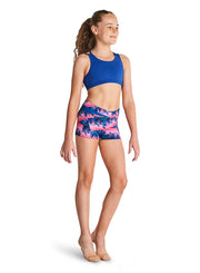 Kaia By Bloch - Twin Strap Crop Top - Child(KA034T) - Cosmo #