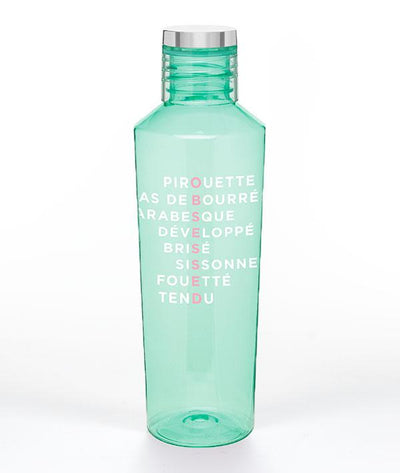 Covet Dance - Obsessed Much? Water Bottle - Mint #