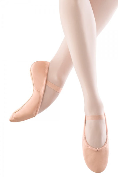Bloch - Dansoft Full Sole Leather Ballet Shoe - Toddler/Girls (S0205T/S0205G) - Pink (GSO)