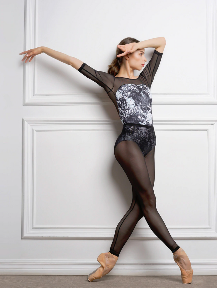 Eleve Dancewear - Mesh Tight Legging - Child/Adult - Black *