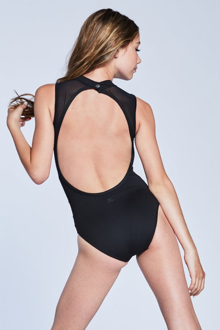 Jo + Jax - The Victory Leotard - Child/Adult (VLL) - Black *
