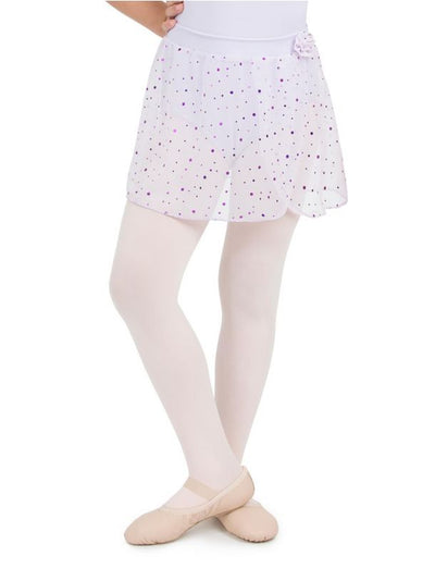 Capezio - Holographic Pull On Skirt - Child (11530C) - Lavender *