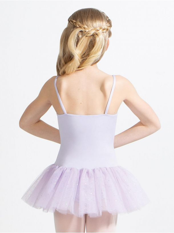 Capezio - Tutu Dress with Glitter Skirt - Child (11308C) - Lavender *