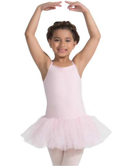 Capezio - Tutu Dress with Glitter Skirt - Child (11308C) - Pink *