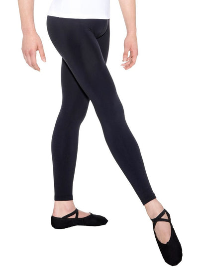 SoDanca - Men's Ankle Length Ballet Tights - Adult (D-301ME) - Black *