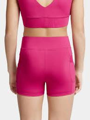 Capezio - Mesh Insert Short - Adult (MC825W) - Mulberry - FINAL SALE