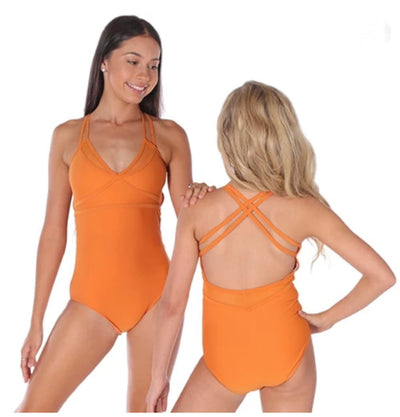 Cosi G - Elemental Leotard - Child/Adult - Marmalade #