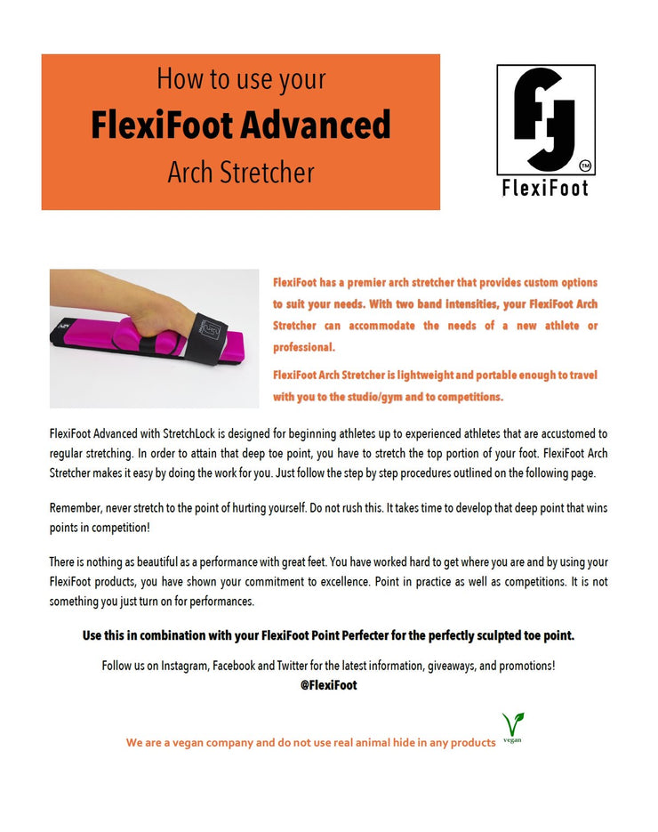 FlexiFoot - Arch Stretcher - Adult - Electric Coral #