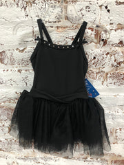 Motionwear - Cami Tutu Bows & Rhinestones Leotard - Child (4553-939) - Black *