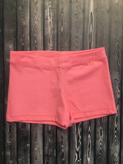 Capezio Boycut Low Rise Shorts - Child/Adult (TB113/TB113C) - Flamingo