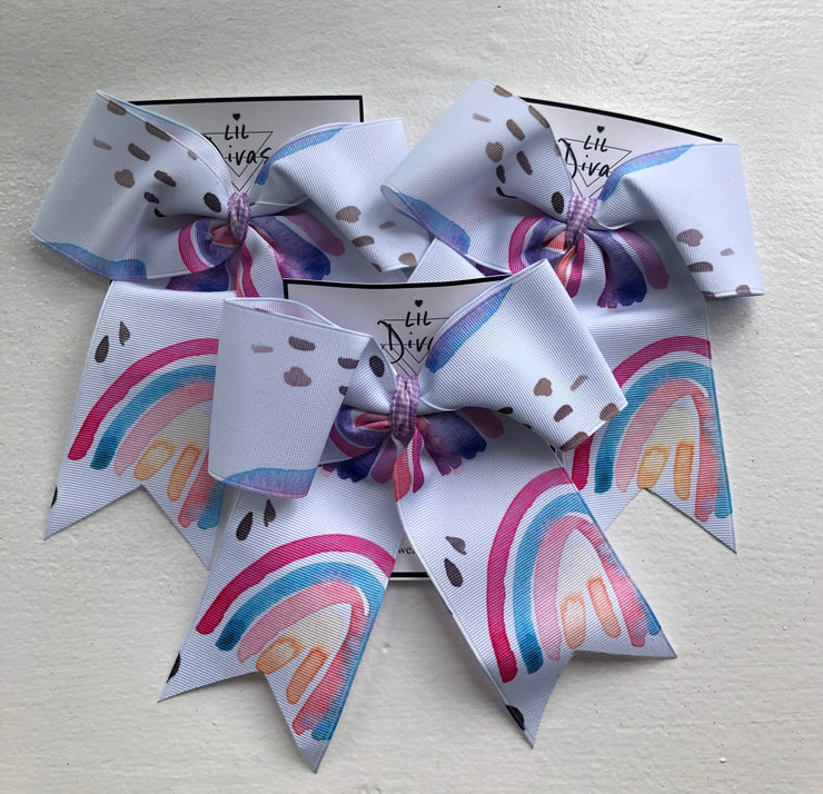 DivaWear - Rainbows in the Sky Hairbow #