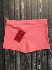 Capezio - Boycut Low Rise Shorts - Child/Adult (TB113/TB113C) - Flamingo - FINAL SALE (EDN)