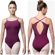 Bloch X-Back Camisole Leotard - Adult (L9897) - African