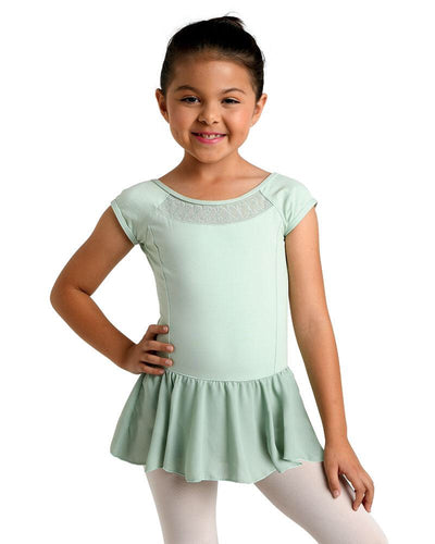 Danz N Motion - Spring Leaf Dress - Child (19203C) - Sage *