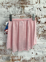 Motionwear - Pull on Wrap Skirt - Child (1328-219) - Pink Rose Lace - (EDN) /