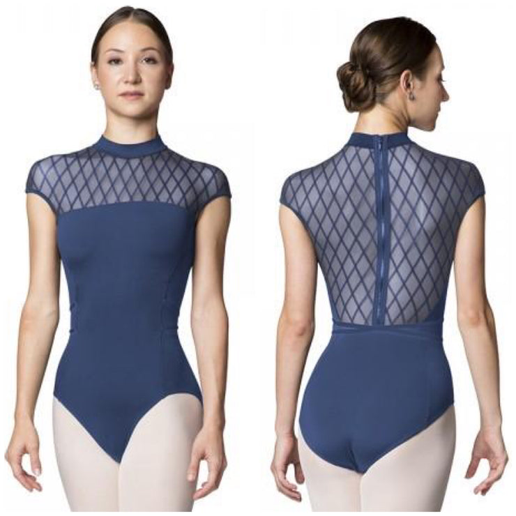Bloch Zip Back Cap Sleeve Leotard - Adult (L9922) - Imperia