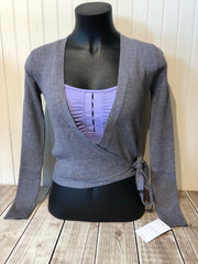 Capezio - Wrap Sweater - Adult (11381W) - Heather Grey #