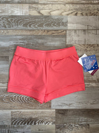 Motionwear -  Shorts - Child/Adult (7141-494) - Coral - FINAL SALE #