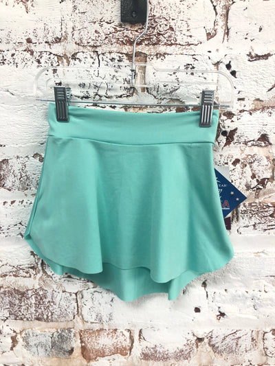 Motionwear - Pull On Skirt - Child/Adult (1236-466) - Mint *