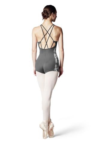Bloch X-Back Unitard - Adult (U9815) - Ebony