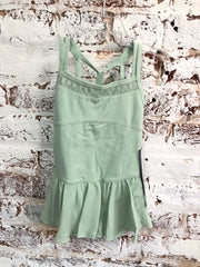 Danz N Motion - Honey Bee Dress - Child (19201C) - Sage (GSO) /