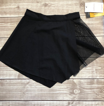 Capezio - Asymmetrical Pull On Skirt - BLK (MC822W)
