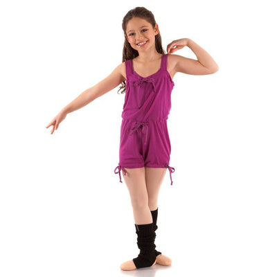Energetiks- Paisley Playsuit- Child (MCW22)- Berry *