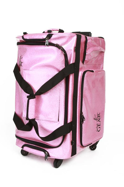 Glam'r Gear - Changing Station Travel Bag - LARGE PINK SPARKLE # SHIPPING INVOICED SEPERATELY
