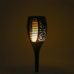 Solar Flame Flickering Lamp Torch