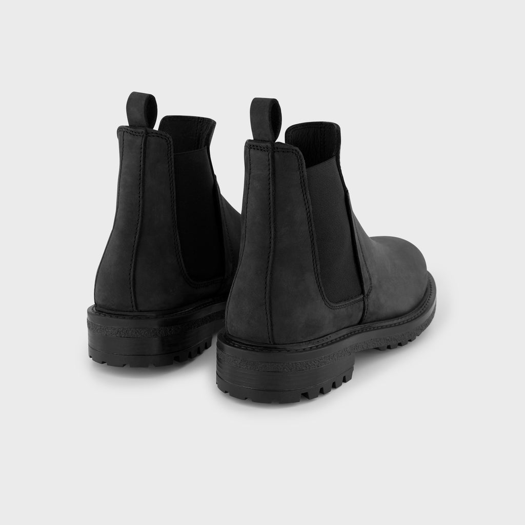 Botto Black Nubuck