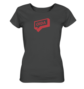 Oida Sprechblase - T-Shirt Ladies Organic - Shirtista
