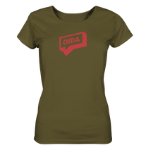Laden Sie das Bild in den Galerie-Viewer, Oida Sprechblase - T-Shirt Ladies Organic - Shirtista