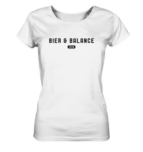 Laden Sie das Bild in den Galerie-Viewer, Bier & Balance - Ladies Organic Shirt - Shirtista