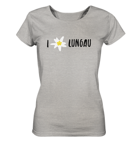 I love Lungau Edelweiss Edition Salzburg - Ladies meliert - Shirtista