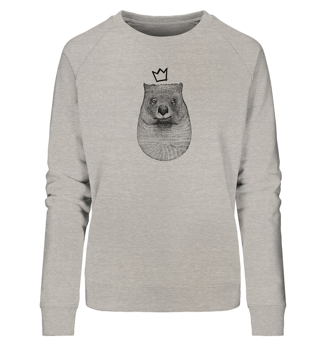 König Wombat - Ladies Organic Sweatshirt - Shirtista