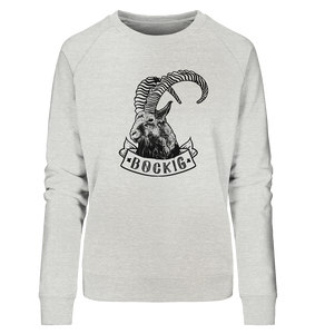 Bockig Steinbock - Ladies Organic Sweatshirt - Shirtista