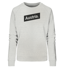 Laden Sie das Bild in den Galerie-Viewer, Austria Minimal Österreich - Ladies Organic Sweatshirt - Shirtista