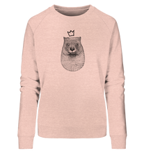 Laden Sie das Bild in den Galerie-Viewer, König Wombat - Ladies Organic Sweatshirt - Shirtista