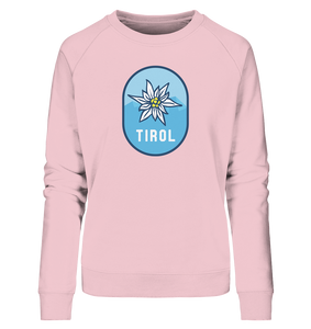 Tirol Retro Edelweiss Edition - Ladies Organic Sweatshirt - Shirtista