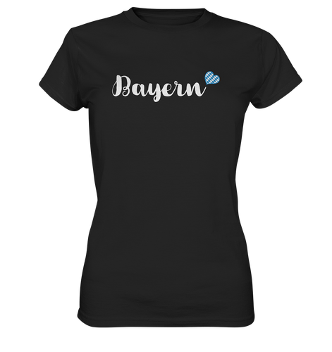 Bayern mit Herz T-Shirt - Ladies Premium - Shirtista
