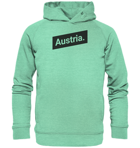 Austria Minimal Österreich-Organic Hooded Sweat - Shirtista
