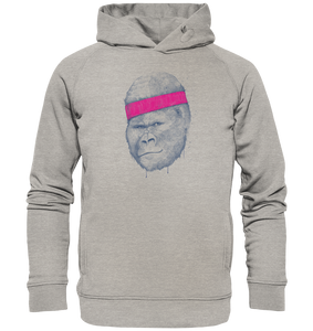 Gorilla Workout-Organic Hooded Sweat - Shirtista
