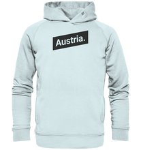 Laden Sie das Bild in den Galerie-Viewer, Austria Minimal Österreich-Organic Hooded Sweat - Shirtista