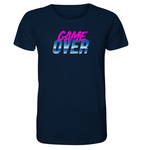 Game Over T-Shirt - Organic Shirt