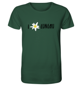 I love Lungau T-Shirt Edelweiss Edition - Shirtista