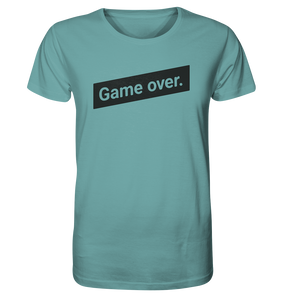 Bräutigam Game Over Polterabend T-Shirt JGA Spruch Organic - Shirtista