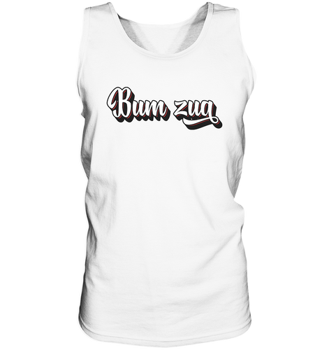 Bum zua-Tank-Top - Shirtista