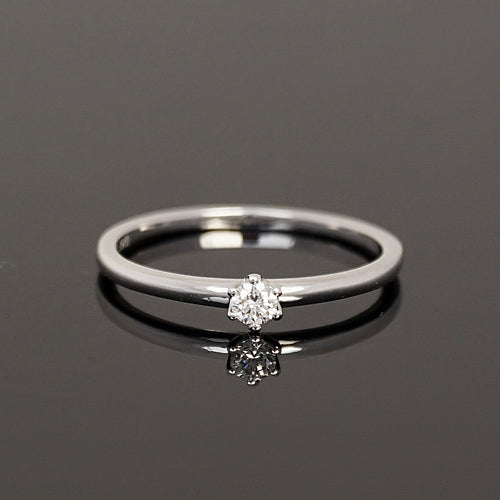 Ring SOLITAIRE 0,10 ct.