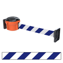 Skipper 30' wall mounted retractable barrier